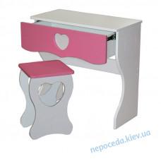 Детский комплект стол+табуретка PRINCESS для девочки