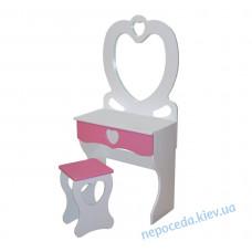 Детский комплект трюмо+табуретка PRINCESS для девочки