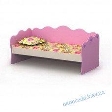 Кровать со спинкой Pink