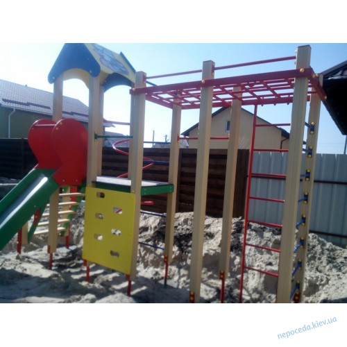 Игровые детские горки и площадки Енотик для улицы