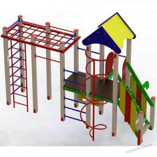 """Игровой детский комплекс с горкой """"Енот"""""""