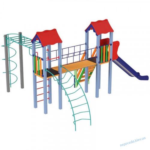 Детский комплекс Вагончик высота 1,5 м