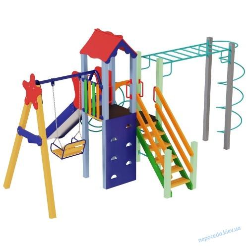 Детский комплекс Луч с горкой 1,5 м