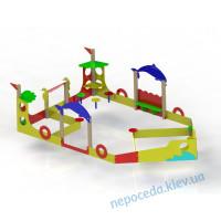 """Детский игровой комплекс """"Кораблик"""" на детскую площадку"""