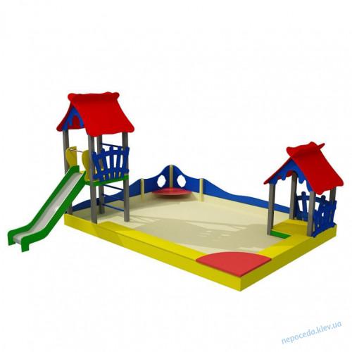 Игровой комплекс с мега песочницей Клуб веселья