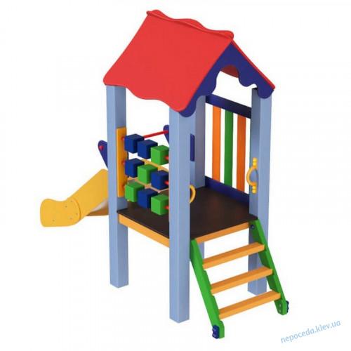 Детский комплекс Kinder 0,6 м для площадки