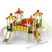 """Игровой детский комплекс """"Меганом"""" для улицы"""