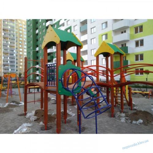 """Игровой комплекс """"Крепость друзей"""" для улицы"""