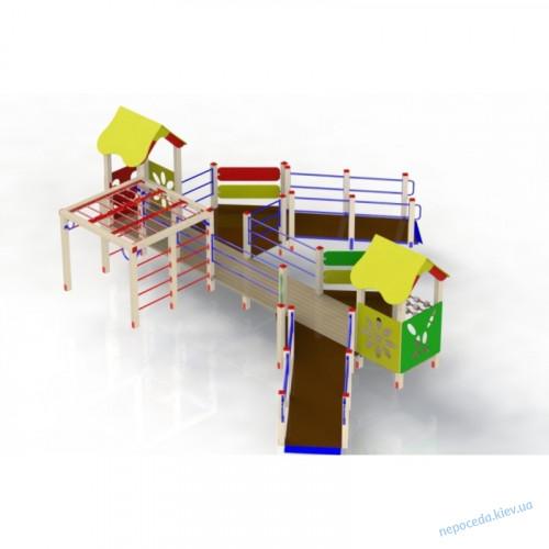 """Игровой комплекс """"Улыбка"""" для детей с ОФВ"""