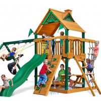 Детские деревянные игровые площадки уличные Люкс-1