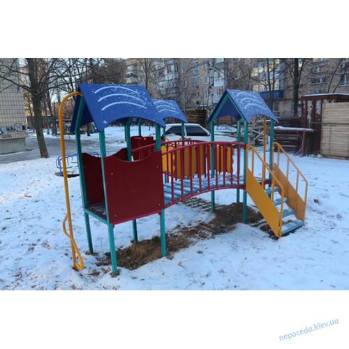 """Дитячий комплекс """"Радість"""" трибаштовий"""