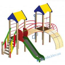 """Детский игровой комплекс """"Две башни"""""""