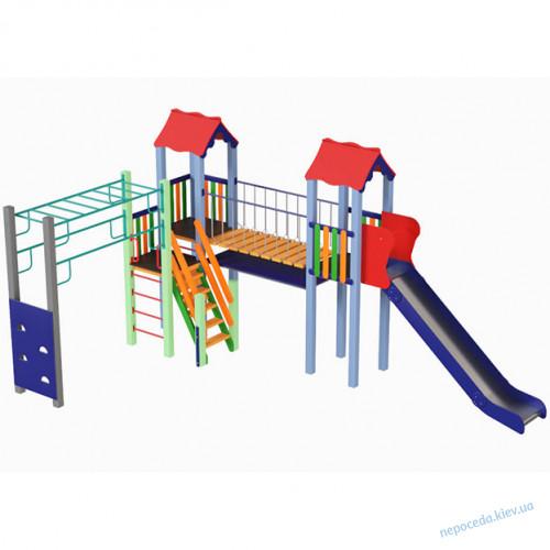 Детская площадка с качелями Кроха-3