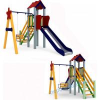 Детский игровой комплекс для улицы Кроха 1,2m