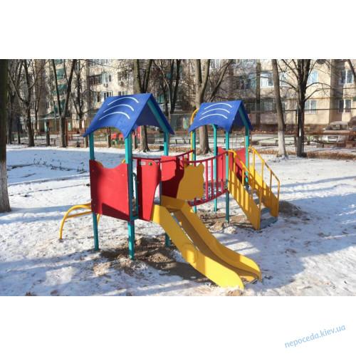 """Детский комплекс """"Нежность"""" 2 башенный"""