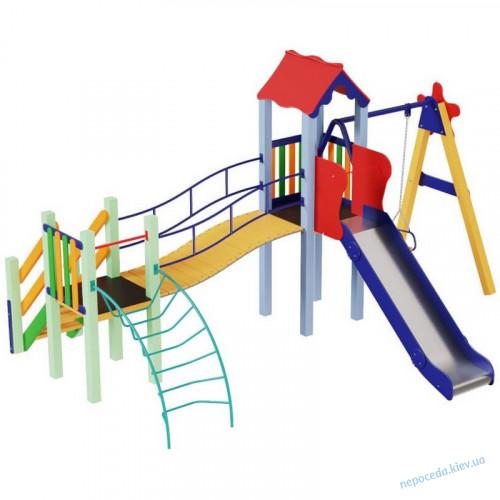 Детский комплекс Верблюжонок с горкой 1,2 м