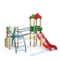 """Детская площадка + горка """"Иллюша"""""""