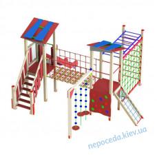 """Детский комплекс """"Дворик"""" уличный для игровой площадки"""