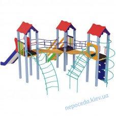 Детский комплекс Три мушкетера высота 1,5 м