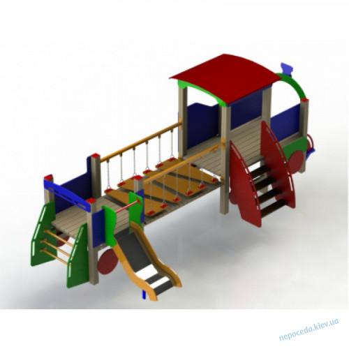 """Детский игровой комплекс """"Большой паровозик"""" на детскую площадку"""