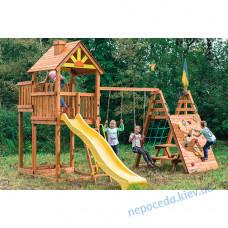 """Детская площадка из дерева """"Выше всех"""""""