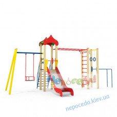 Детская площадка Спортишка спортивно игровая с турником