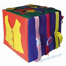 Детский дидактический модуль Куб