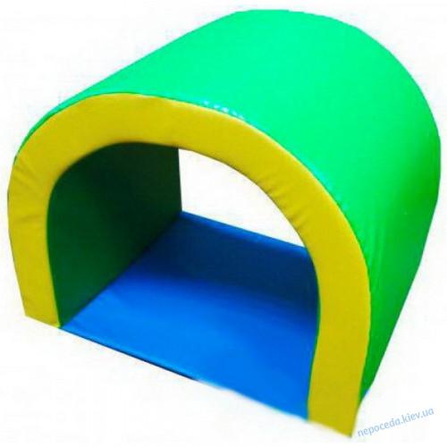 Детский мягкий игровой тоннель арочный