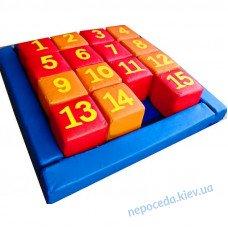Детский набор кубиков Пятнашки