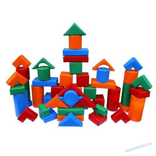 Детский модульный конструктор «Строитель — 1 Мини»