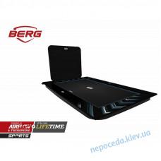 Батут BERG ULTIM ELITE FLATGROUND 500 BLACK + AEROWALL