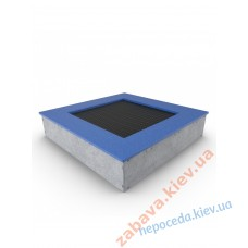 Грунтовий батут Jump Activity 2 х 2 метри для відкритого дитячого майданчика