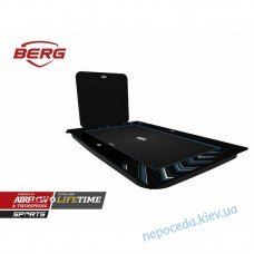 Батут BERG ULTIM ELITE FLATGROUND 500 BLACK+AEROWALL