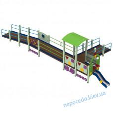 Ігровий майданчик Поїзд Дрім для дітей з ОФМ