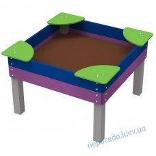Песочница Мечта 1,4х1,4 для детей с ОФВ