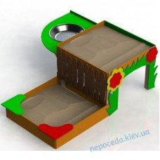 Песочница двухуровневая для детей с ОФВ