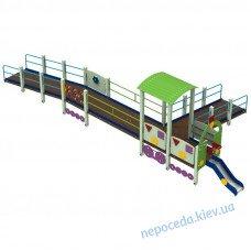 Игровая площадка Поезд Дрим для детей с ОФМ
