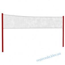 Волейбольні стійки без сітки