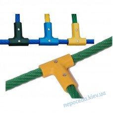 Т-подібний з'єднувач для канатів діаметром 16 мм