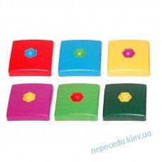 Пластикова накладка на стовп квадратна 100х100 мм