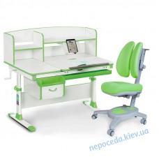 Комплект парта и кресло Evo-kids Evo-50 Z + Y-115 KZ New зеленый