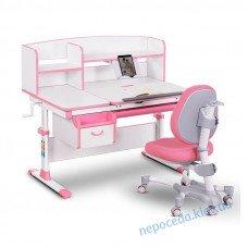 Комплект детская парта и кресло Evo-kids Evo-50 PN