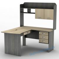 Компьютерный стол с ящиками и регулировкой