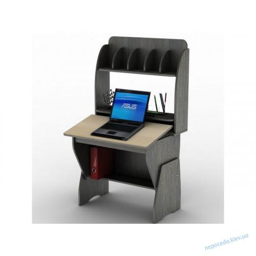 Детский компьютерный стол с надстройкой