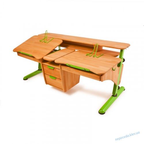"""Детский стол """"Эргономик для двоих детей"""" бук"""