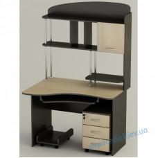 Компьютерный стол СК-21 с полочками и ящиками