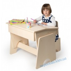 """Регульована парта дитяча """"Соня"""" і стілець"""