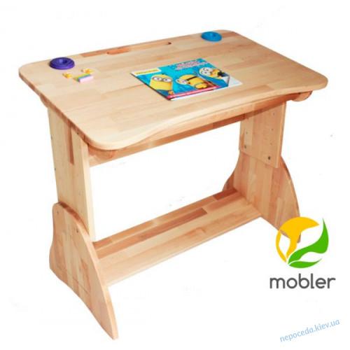 Письменный стол для школьника Mobler с ящиком, 90 см
