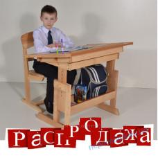 """Парта буковая """"Умничка"""" (без стула)"""