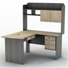 Комп'ютерний стіл з ящиками і регулюванням